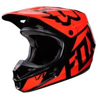 FOX přilba V1 RACE Helmet Orange 17 vel: M