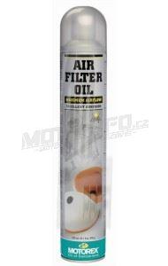MOTOREX olej na filtry spray AIR FILTER OIL Spray – 750ml
