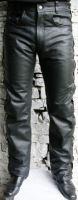 KO kalhoty kožené šněrováky – vel: 34