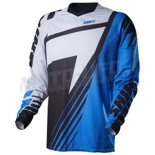 SHIFT dres FACTION Satellite Jersey Blue/Black