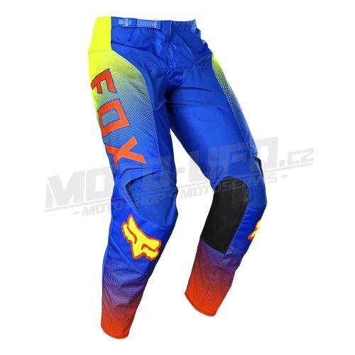 FOX kalhoty 180 OKTIV blue