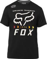 FOX funkční tričko Murc Fctry Ss Tech Tee black vel: L