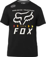 FOX funkční tričko Murc Fctry Ss Tech Tee black vel: XL