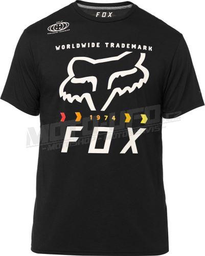 FOX funkční tričko Murc Fctry Ss Tech Tee black