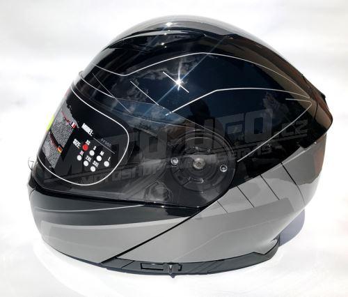 YOHE přilba 950-16 Black, Grey