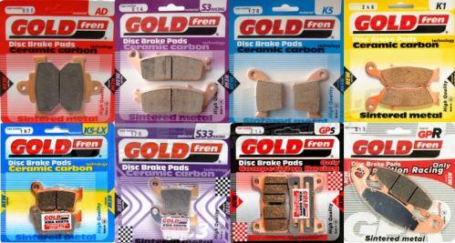 GOLDFREN brzdové desky/obložení směs AD, K1
