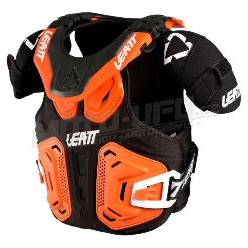 LEATT dětský chránič krku a těla Leatt Fusion Vest 2.0 Junior Orange
