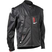 LEATT enduro bunda GPX 4.5 Lite Jacket Black Grey vel: 2XL