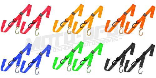 Popruhy/kurty COLOR 25mm - pár (2 možnosti uchycení) - více barev