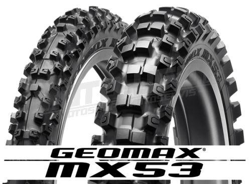 DUNLOP pneu 110/90-19 GEOMAX MX53