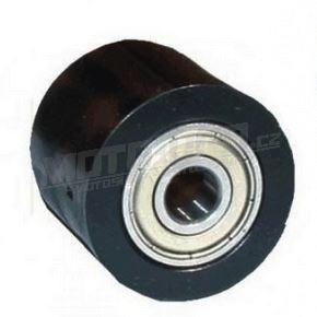 Rolna řetězu včetně ložisek (průměr 38mm / šířka 23mm) - černá