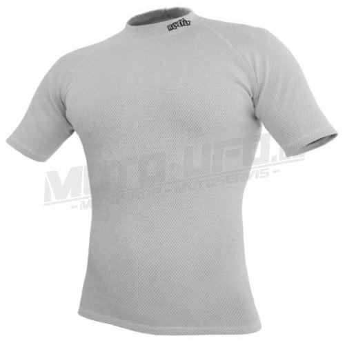 BLUEFLY – TERMO DUO - tričko krátký rukáv - bílé unisex