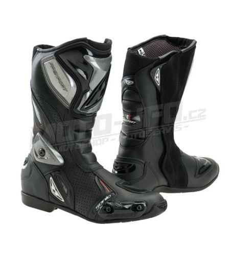 PREXPORT boty SONIC BK – černé