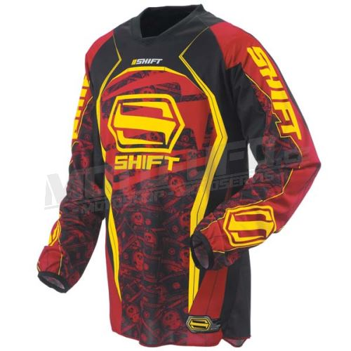 SHIFT dres STRIKE red/yellow vel: XL