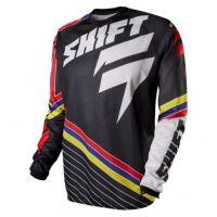 SHIFT dres STRIKE stripes black vel: XL