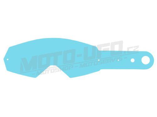 Strhávací slídy plexi pro brýle OAKLEY MAYHEM, QTECH - EU (10 vrstev v balení, čiré)
