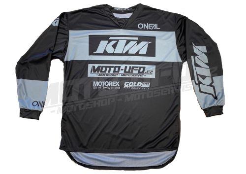 MU dres KTM, MU team šedý