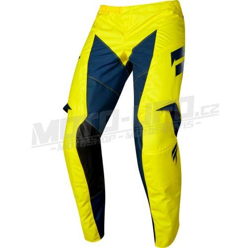 SHIFT kalhoty WHIT3 YORK Yellow, Navy