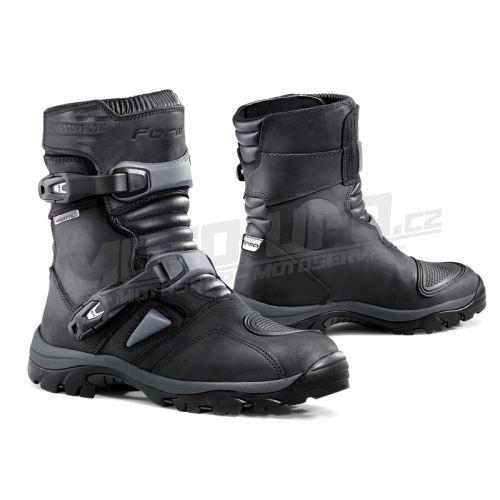 FORMA boty ADVENTURE LOW nízké černé
