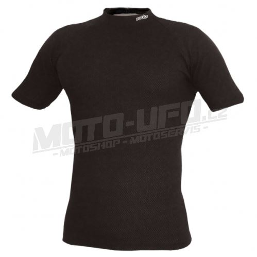 BLUEFLY – TERMO DUO - tričko krátký rukáv – černé unisex