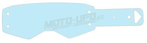 Strhávací slídy plexi pro brýle PROSPECT, SCOTT - USA (10 vrstev v balení, čiré)