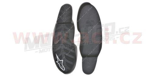 Podrážka pro boty SMX Plus, ALPINESTARS (černá/bílá, pár)