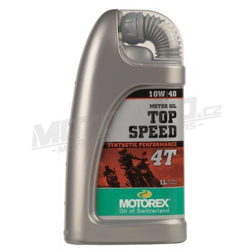 MOTOREX olej TOP SPEED 4T 10W/40 – 1L