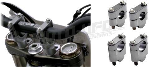 ZETA Sada vyvýšení řidítek (pro řídítka průměru 28,6mm) zvýšení o 30mm
