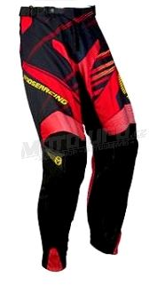 MOOSE kalhoty M1 red vel: 32
