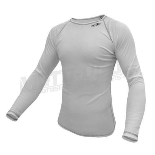 BLUEFLY – TERMO LIGHT - tričko dlouhý rukáv – bílé unisex