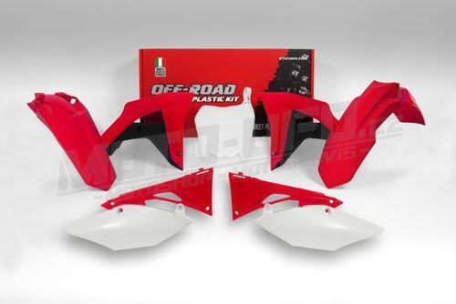 Sada plastů Honda, RTECH (OEM barvy, 6 dílů, vč. krytů vzduch filtru)