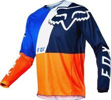 FOX dres 180 Lovl Jersey Orange Blue vel: 2XL
