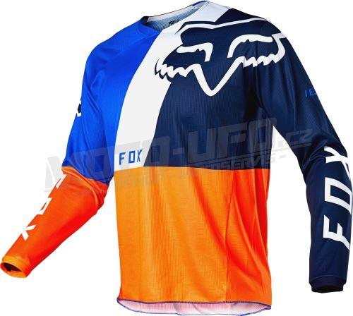 FOX dres 180 Lovl Jersey Orange Blue