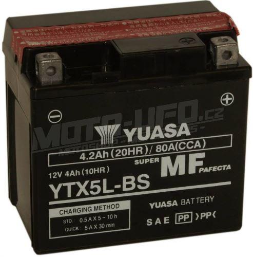 YUASA baterie YTX5L-BS (12V 4,2Ah)