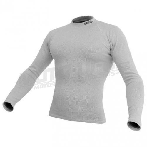 BLUEFLY – TERMO DUO - tričko dlouhý rukáv - bílé unisex