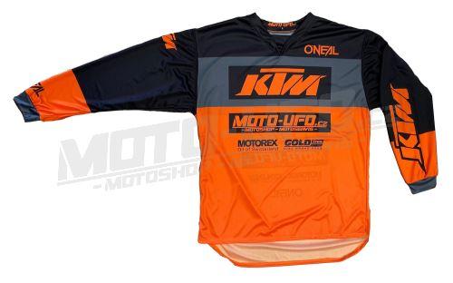 MU dres KTM, MU team oranžový