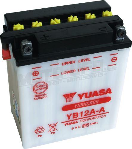 YUASA baterie YB12A-A (12V 12,6Ah)
