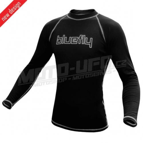 BLUEFLY – TERMO PRO - tričko dlouhý rukáv – černé unisex