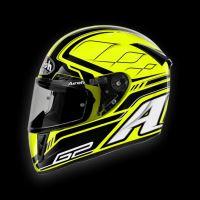 AIROH přilba GP 400 LEMANS žlutá vel: S
