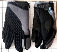FOX rukavice dětské THERMALPAW black vel: M