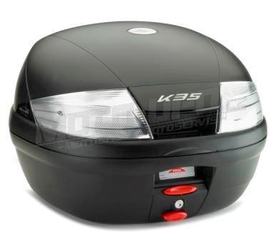 KAPPA kufr K35NT (bílá odrazka)