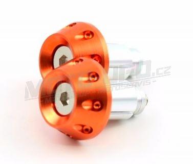 M-STYLE závaží do řídítek DECENT (356) – oranžová