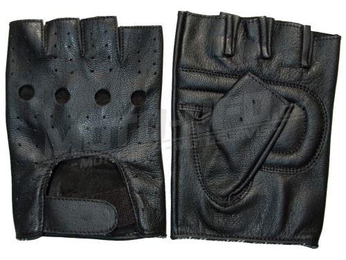 Rukavice Faaker bezprstové, ROLEFF - Německo (černé)