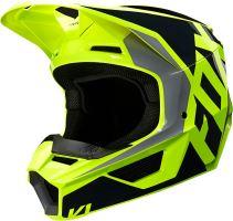 FOX přilba V1 Lovl Helmet Black Yellow vel: M