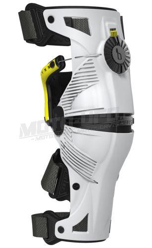 Kolenní ortézy X8 sada L/P, MOBIUS - USA (bílá/žlutá)