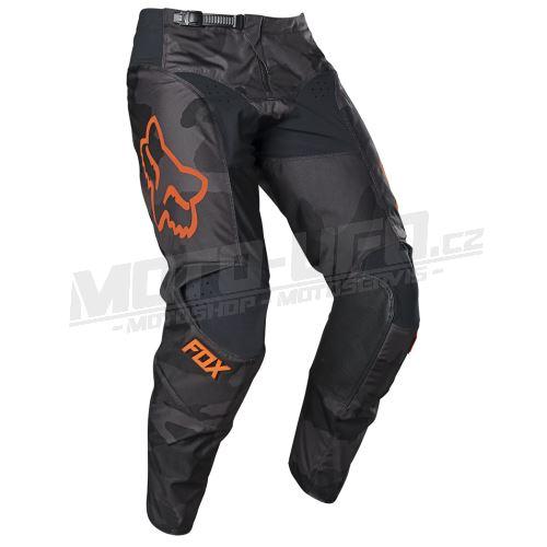 FOX kalhoty 180 TREV black, camo