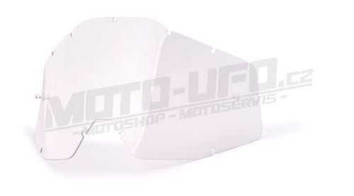 100% náhradní sklo Strata, Accuri, Racecraft – antifog, čiré