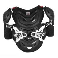 LEATT chránič hrudi s bokama 5.5 Pro HD Chest Protector Black vel: L/XL