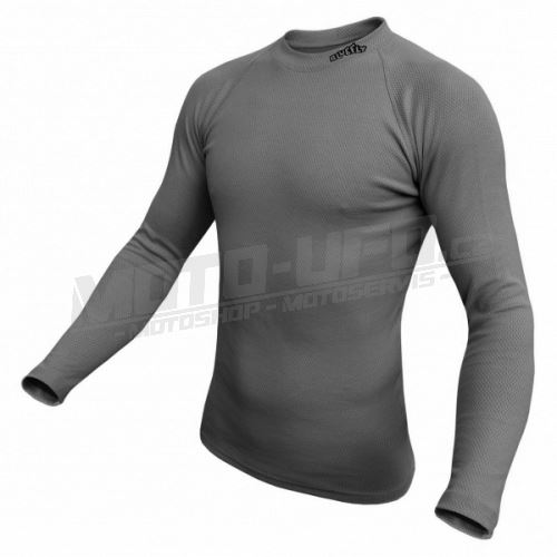 BLUEFLY – TERMO DUO – tričko dlouhý rukáv – tmavě šedá unisex vel: XS