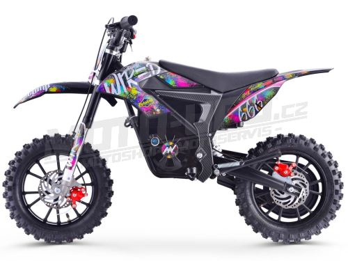 STOMP pitbike Wired Splatter electric